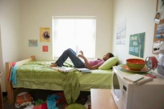 saving money on your dorm furnishings